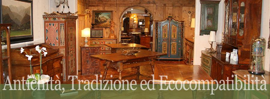 La bifora bottega antiquaria antichita 39 e mobili for Arredamento tirolese